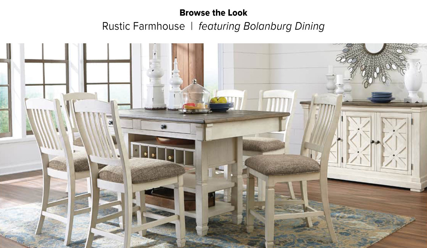 Browse the Look Bolanburg Dining
